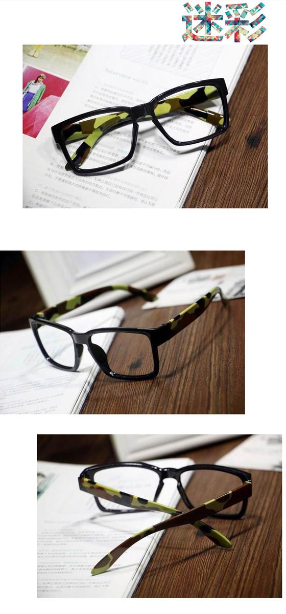 フレームウェリントン眼鏡 平 レンズ個性的クラシック