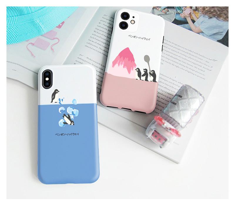 ペンギンかわいいiphone11 Pro Maxケース ブランド 人気 女子iPhone11