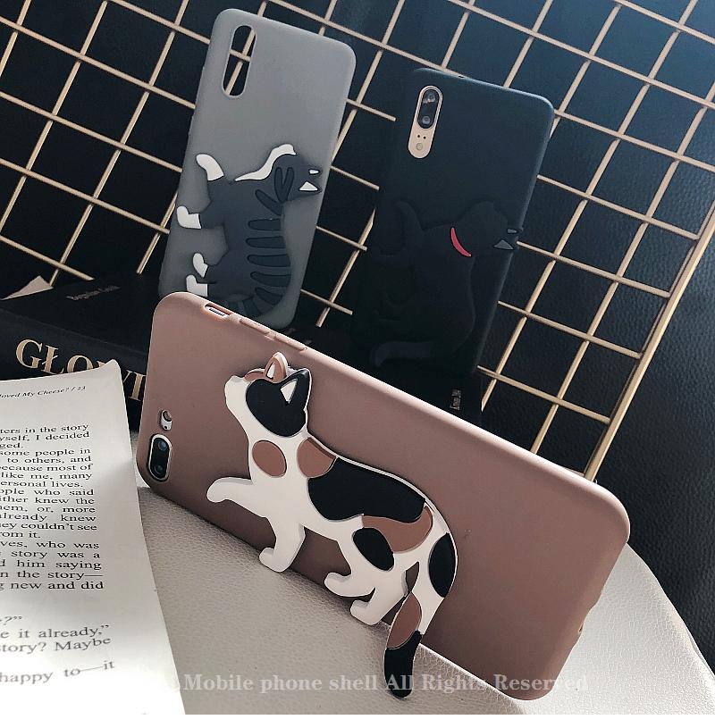 猫の尻尾iPhone 12 mini/12 Pro Maxケース かわいい