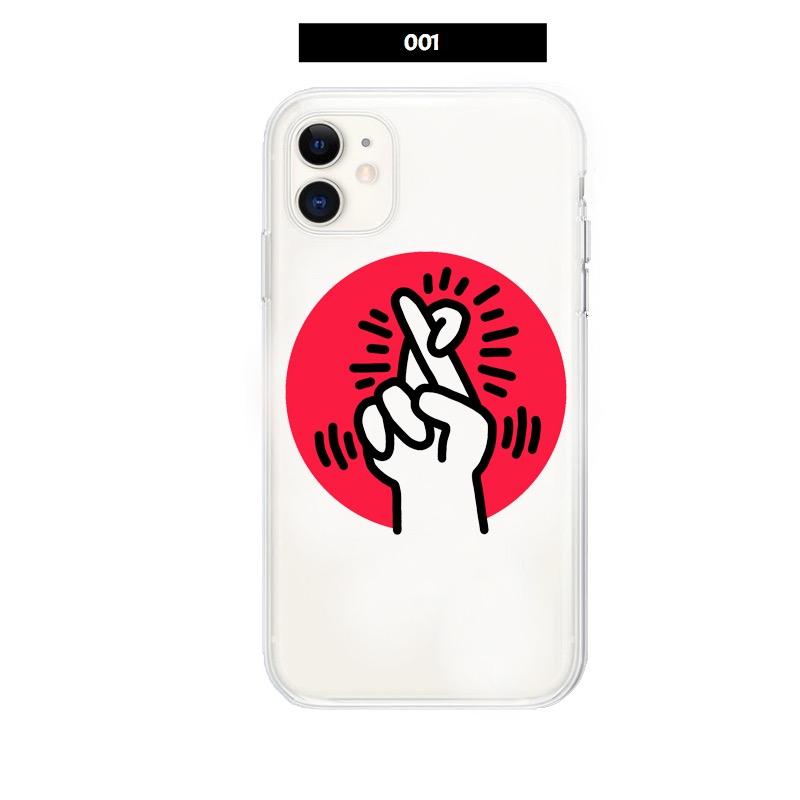 キースヘリング グッズ個性的落書きiPhone 12 Proスマホ カバー おもしろ