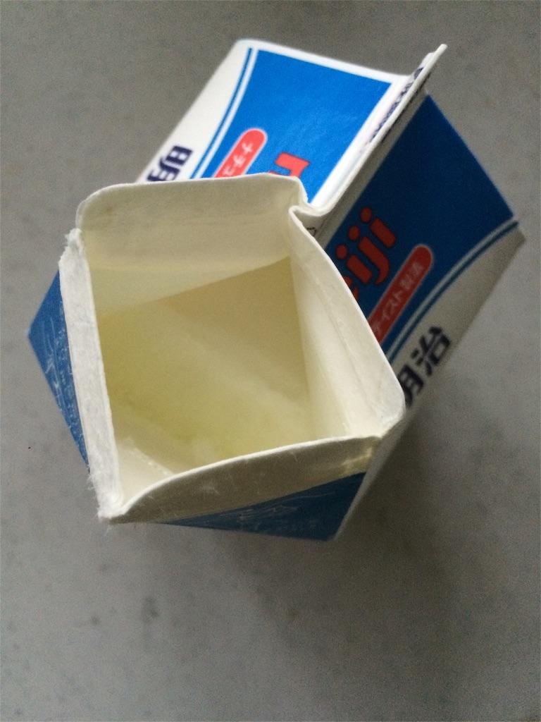 ヨーグルト発酵成功1
