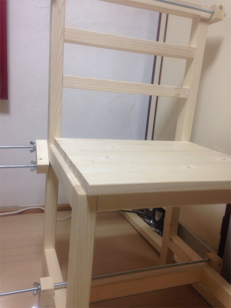 DIYでイス 製作過程2