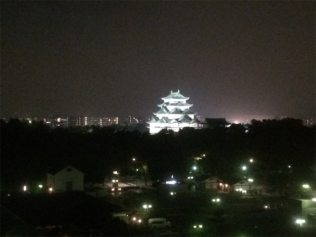 KKRホテル名古屋 ライトアップ