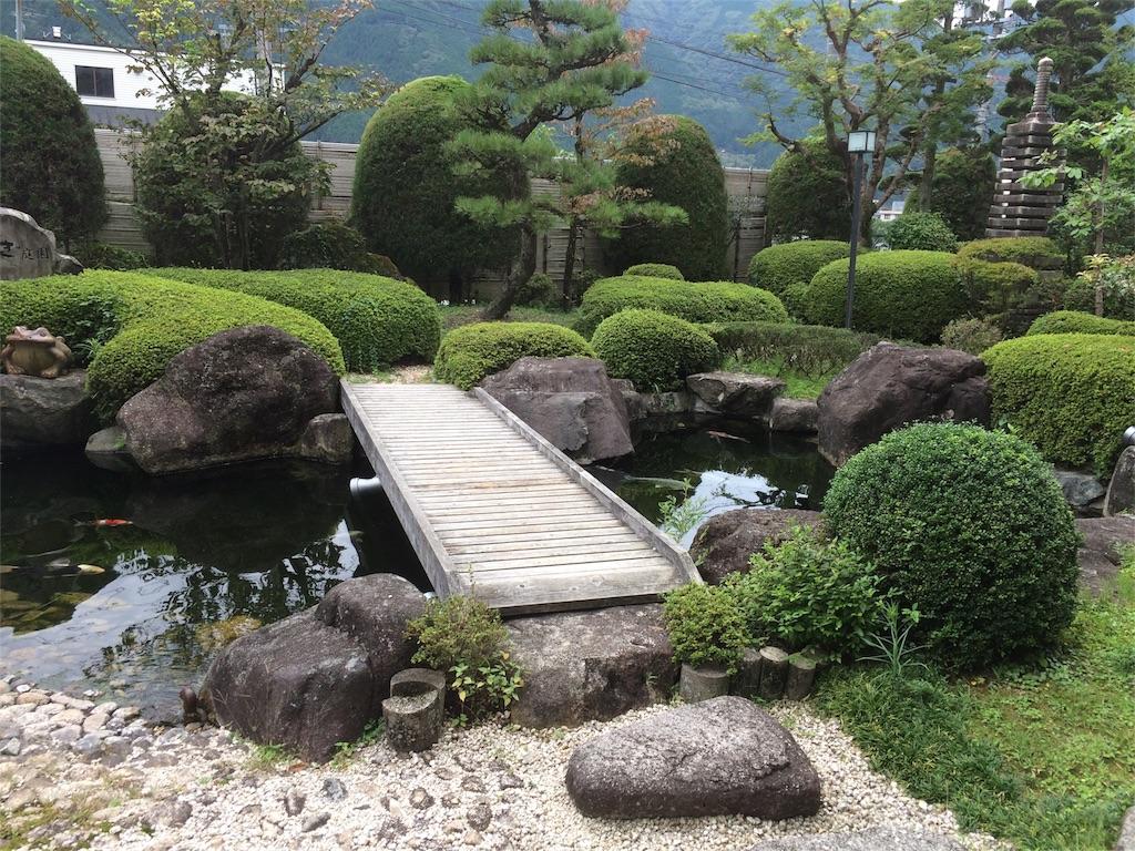 KKR下呂しらさぎ 日本庭園 橋