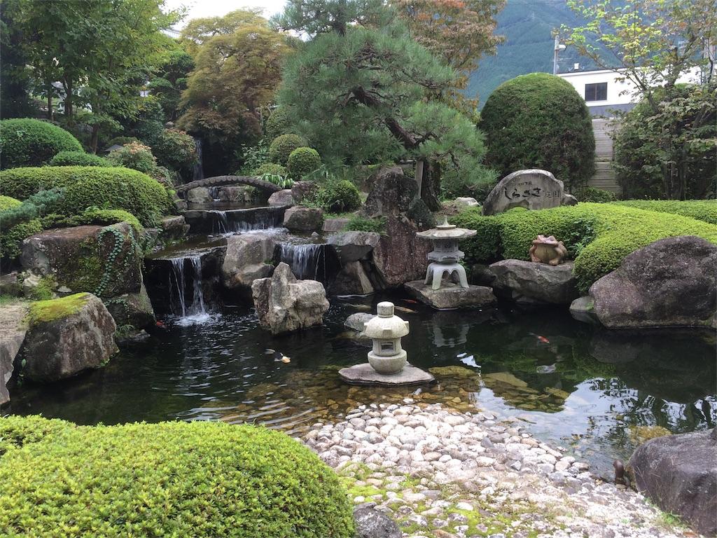 KKR下呂しらさぎ 日本庭園 滝