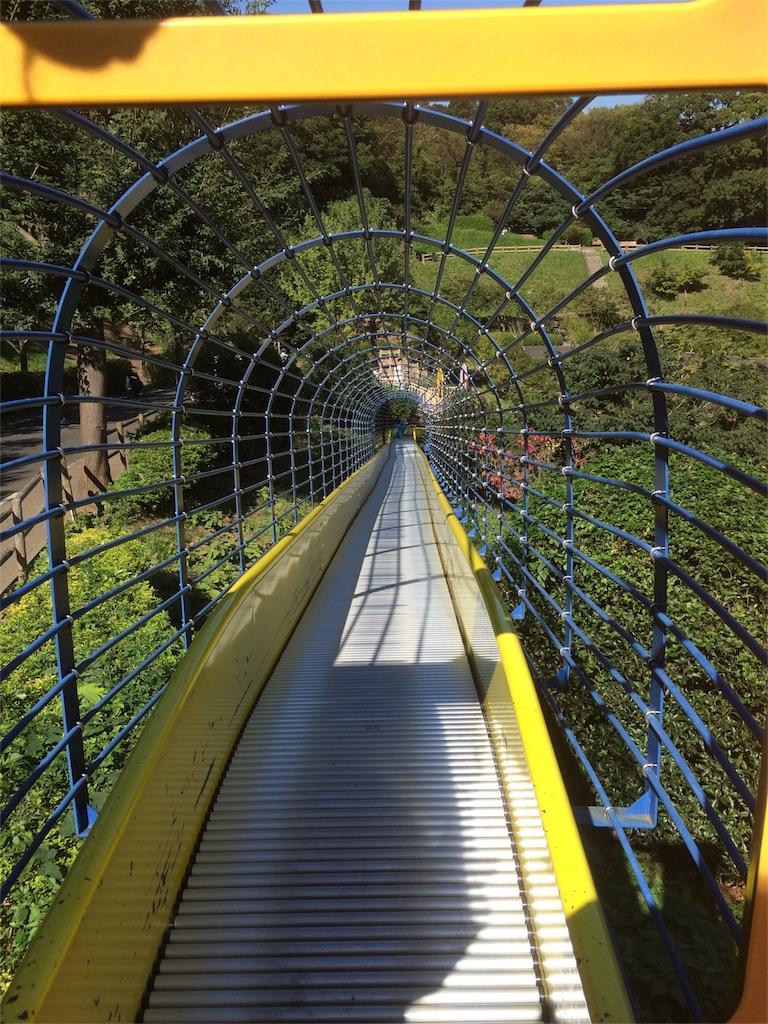金沢動物園 滑り台