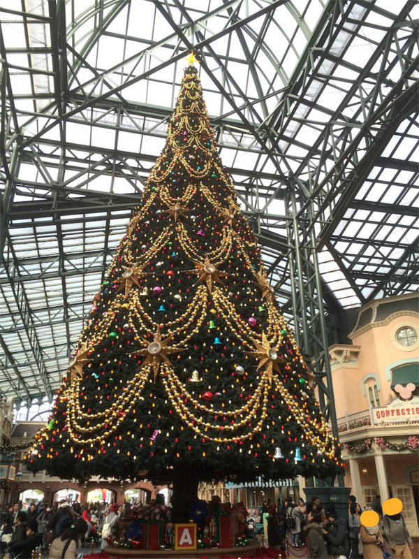 ディズニーランド 2016年クリスマスツリー