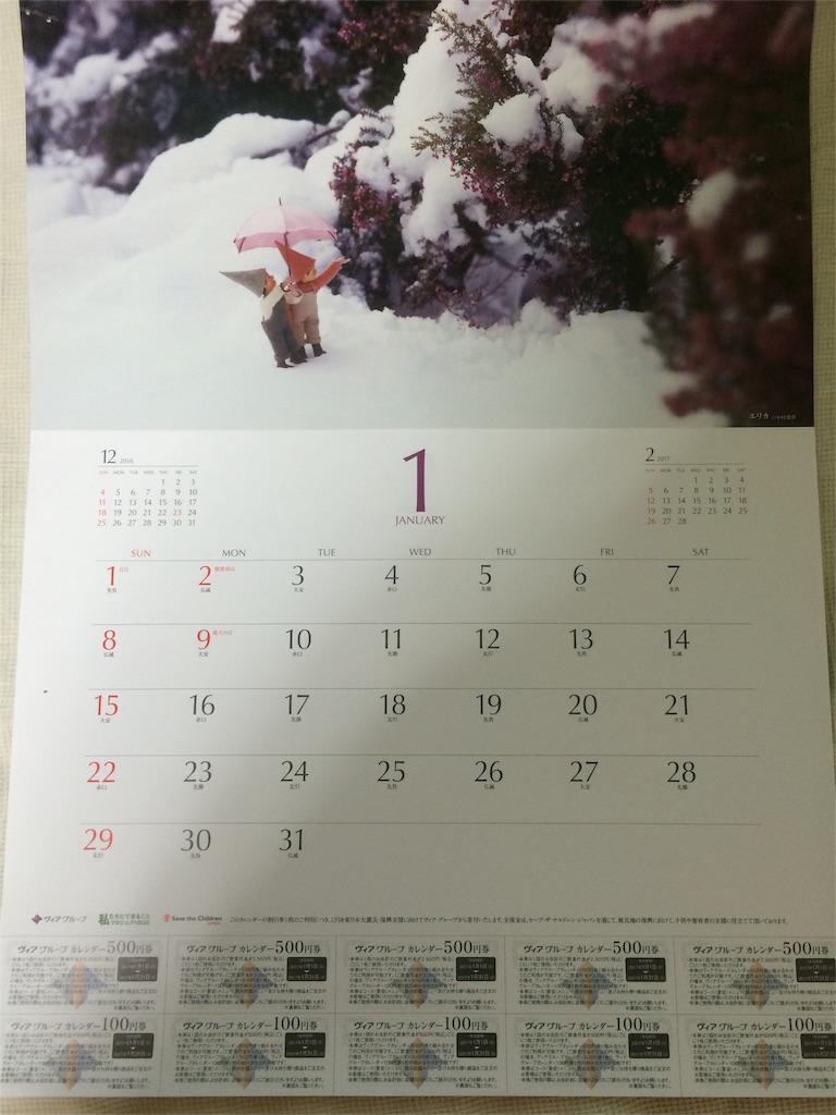 株主優待 ヴィア・ホールディングス カレンダー各月