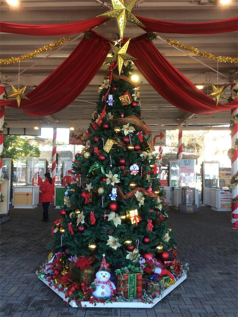 よみうりランド クリスマスツリー