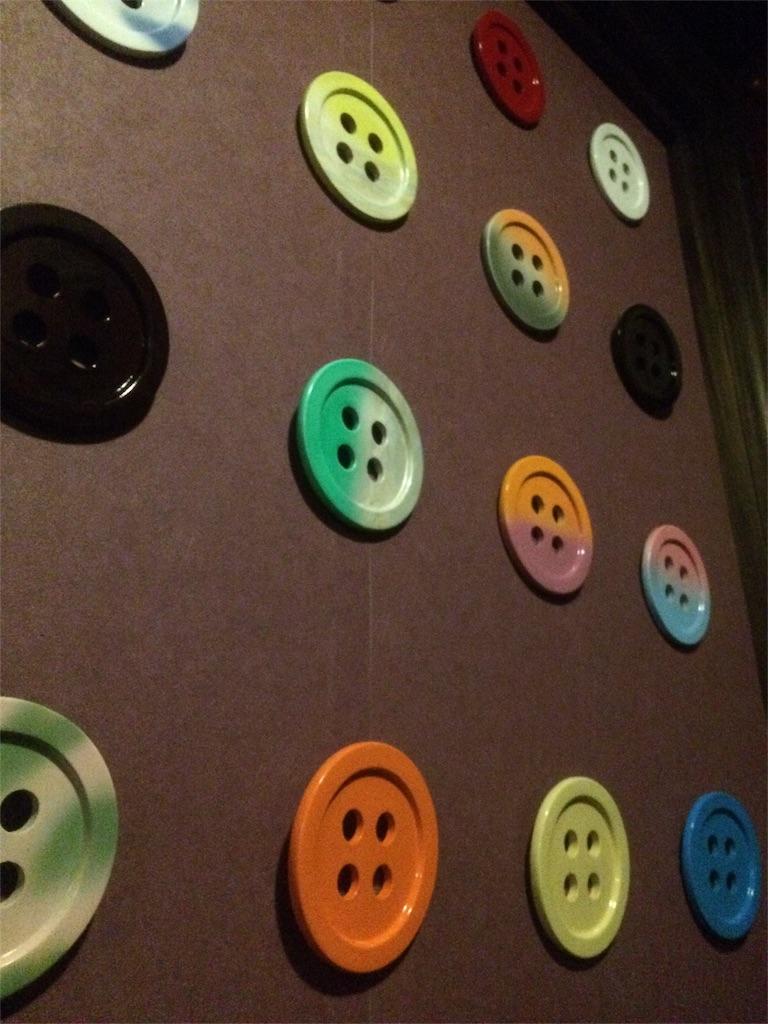 よみうりランド グッジョバ スピンランウェイ ボタンの壁