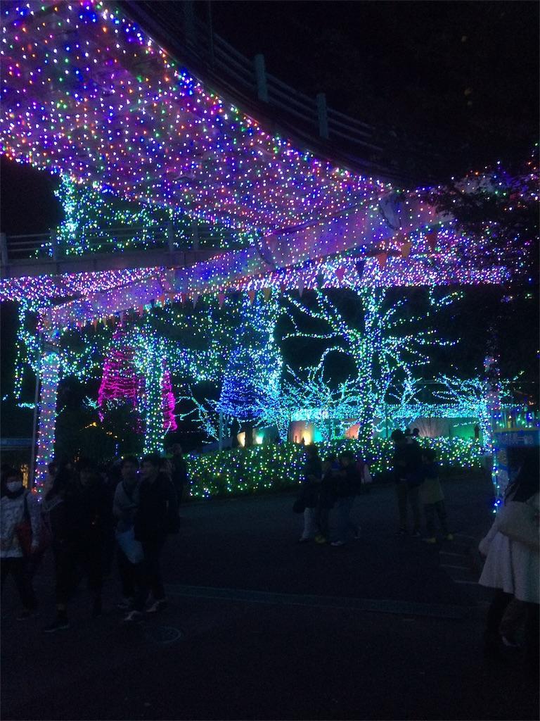 よみうりランド イルミネーション アトラクションエリア3