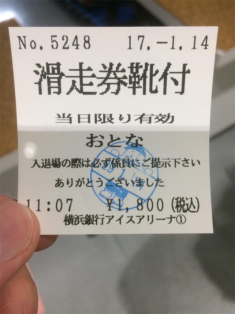横浜銀行アイスアリーナ 滑走券