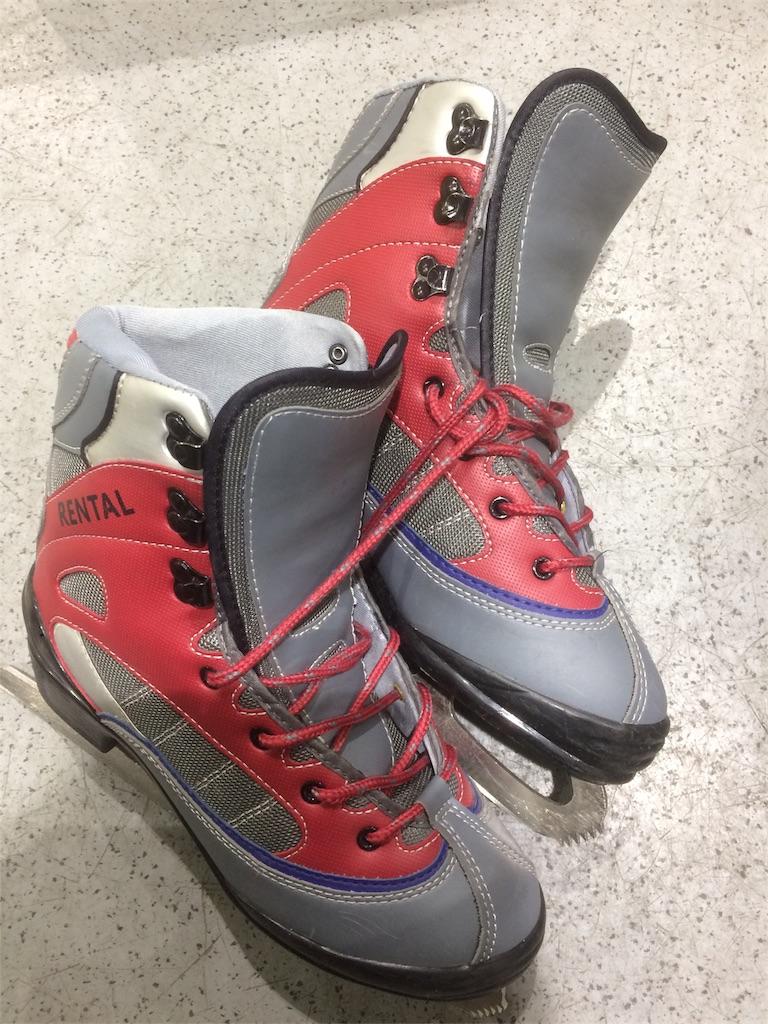 横浜銀行アイスアリーナ スケート靴