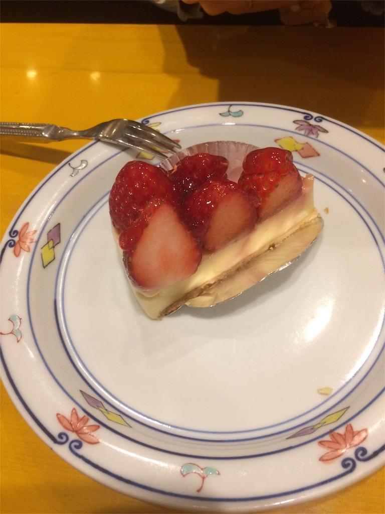 五右衛門 デザート イチゴ レアチーズケーキ