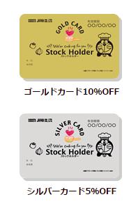 株主優待 ココス ストックホルダー
