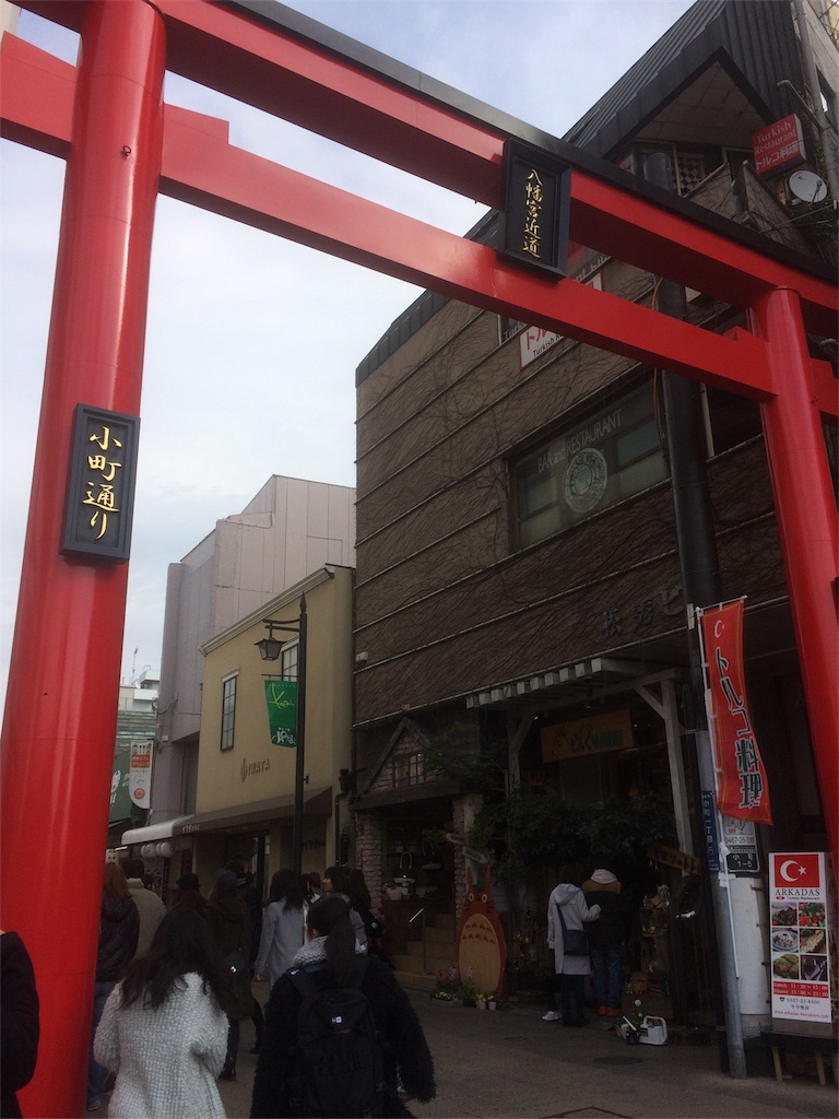 鎌倉小道通り 門