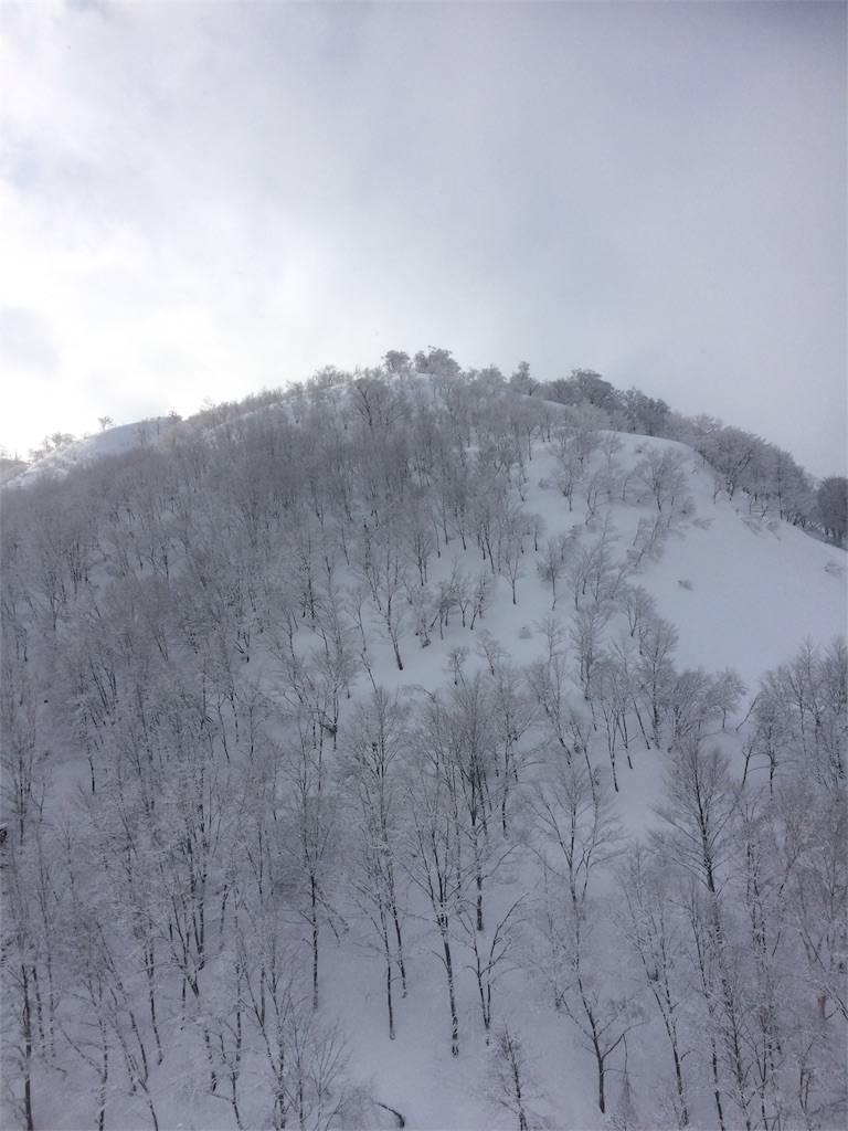 GALA湯沢 山頂からの眺め