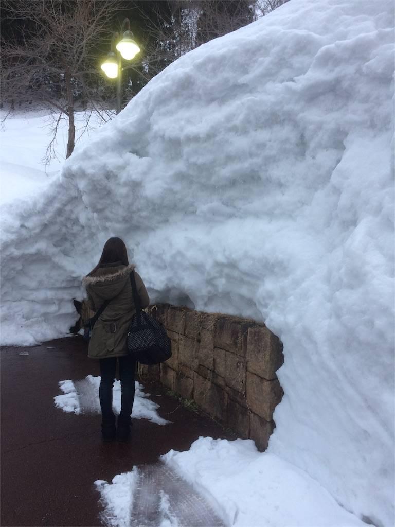 KKR湯沢ゆきぐに 積雪