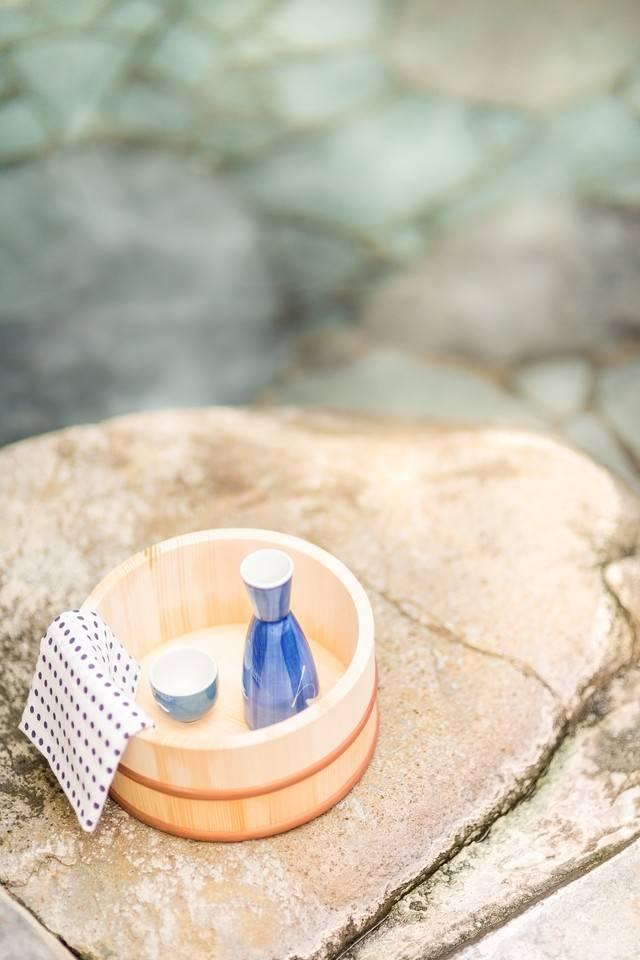 伊香保温泉 かのうや 風呂桶
