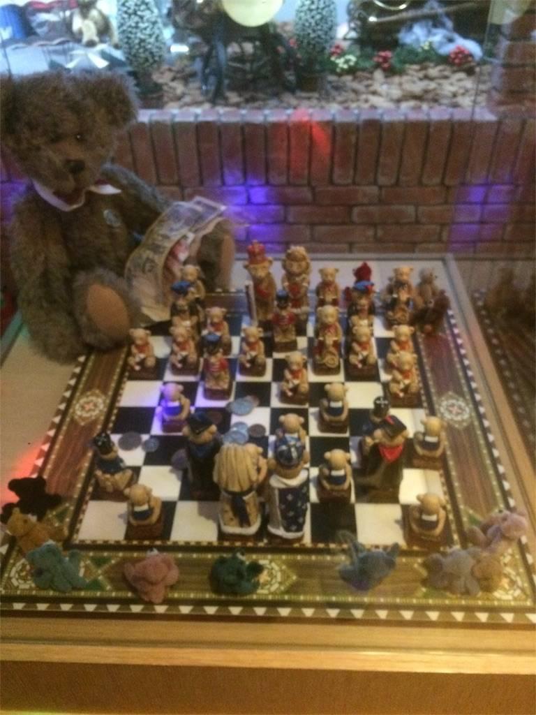 伊香保 おもちゃと人形 自動車博物館 クマのチェス