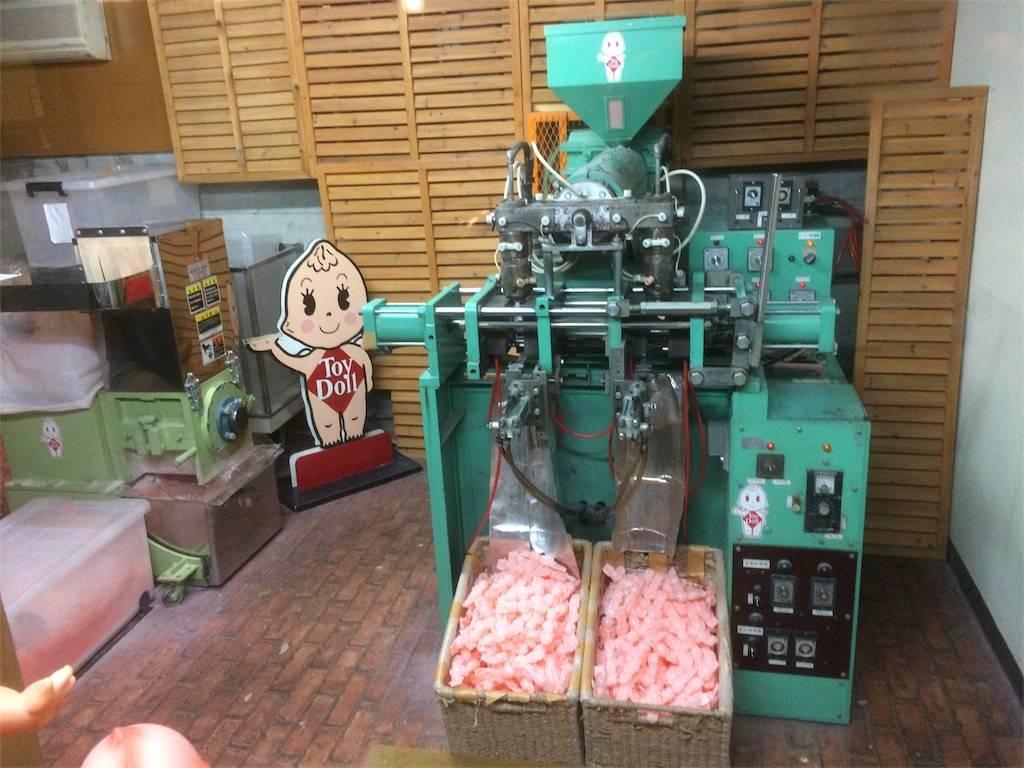 伊香保 おもちゃと人形 自動車博物館 キューピー製造機