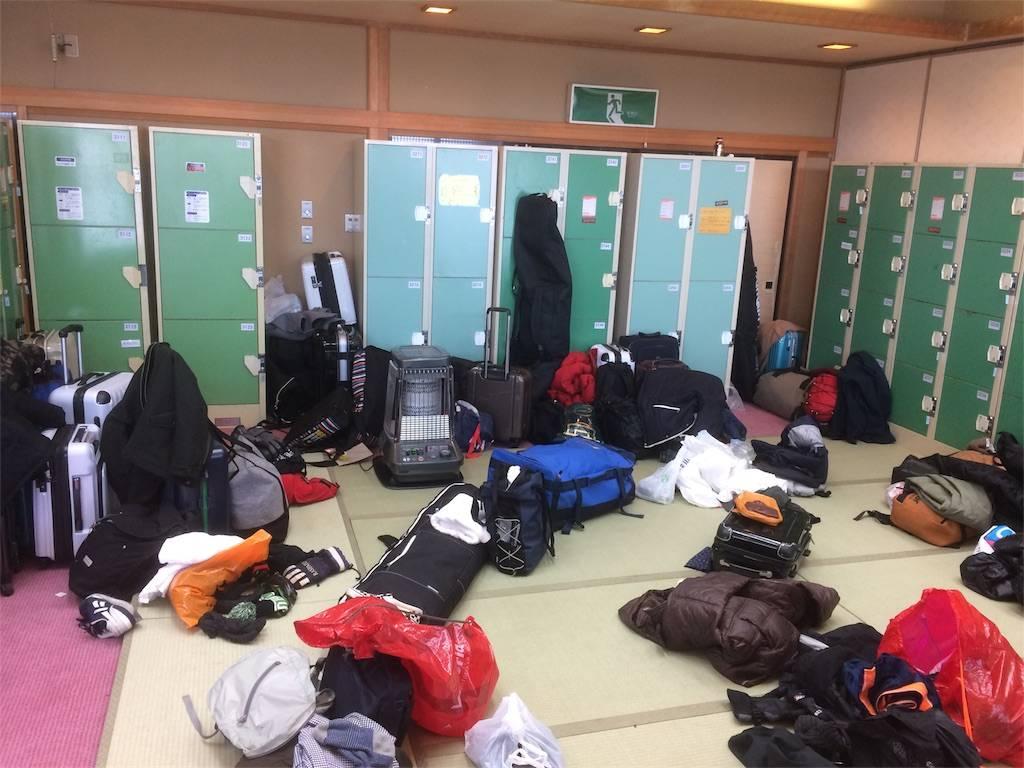 赤倉温泉 ホテル太閤 更衣室