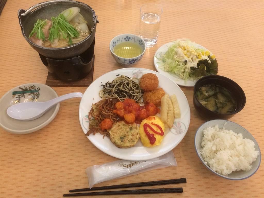 赤倉温泉 ホテル太閤 夕飯