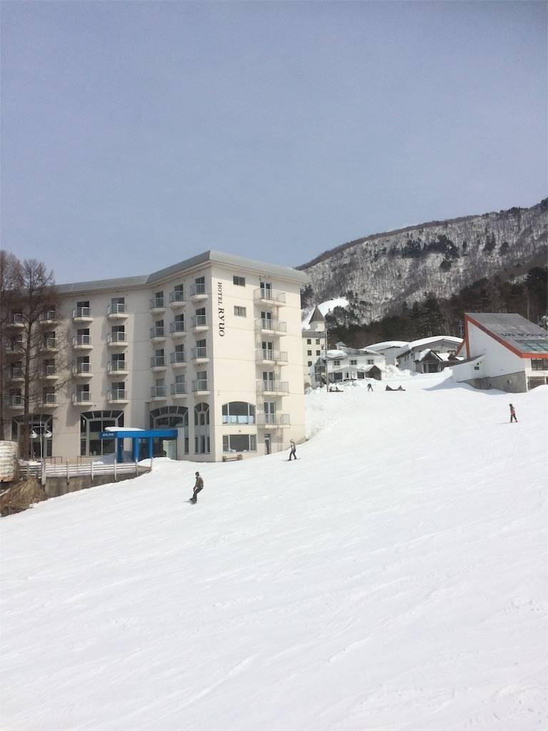 竜王スキーパーク リフト2