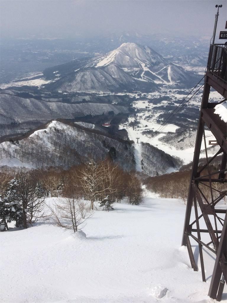 竜王スキーパーク 山頂