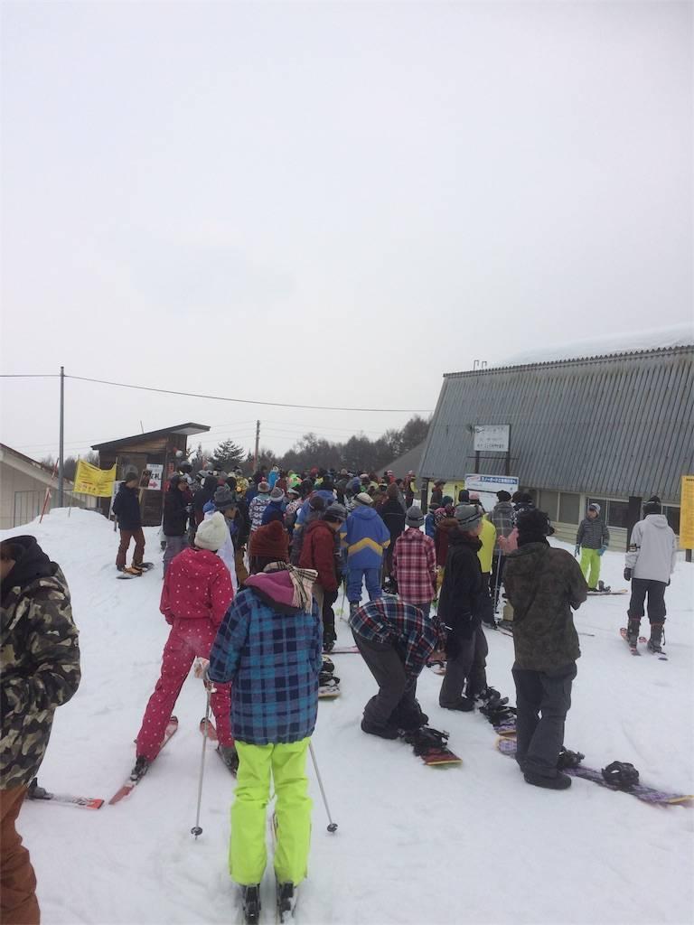 竜王スキーパーク 3連休