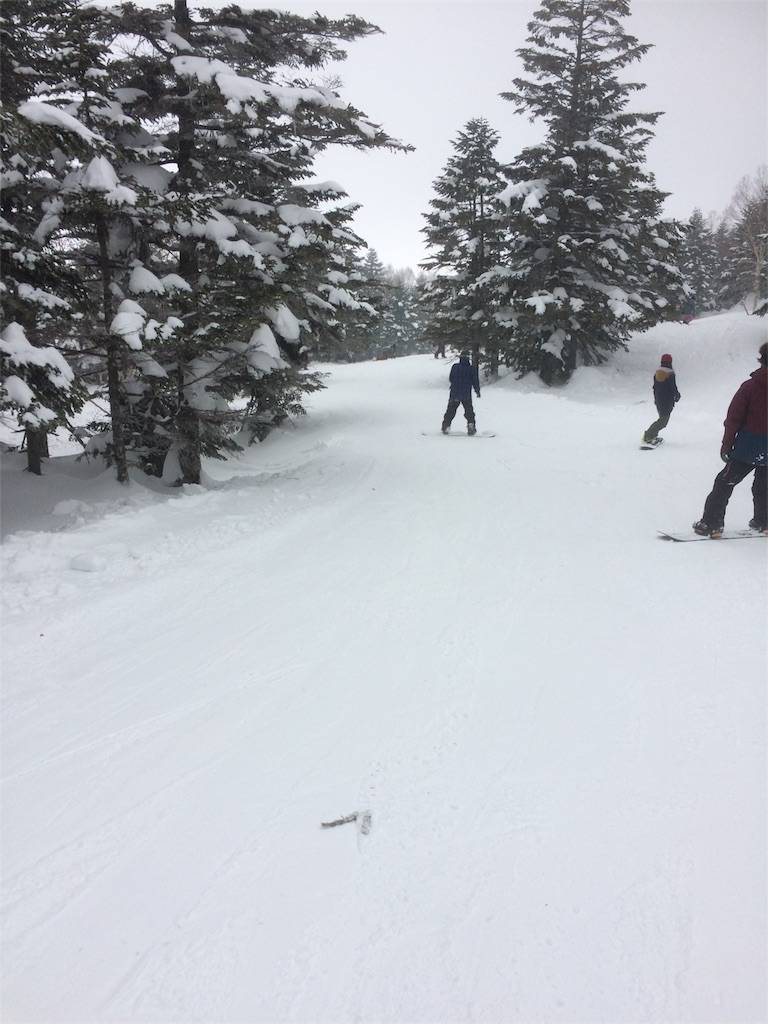 竜王スキーパーク 山頂ゲレンデ