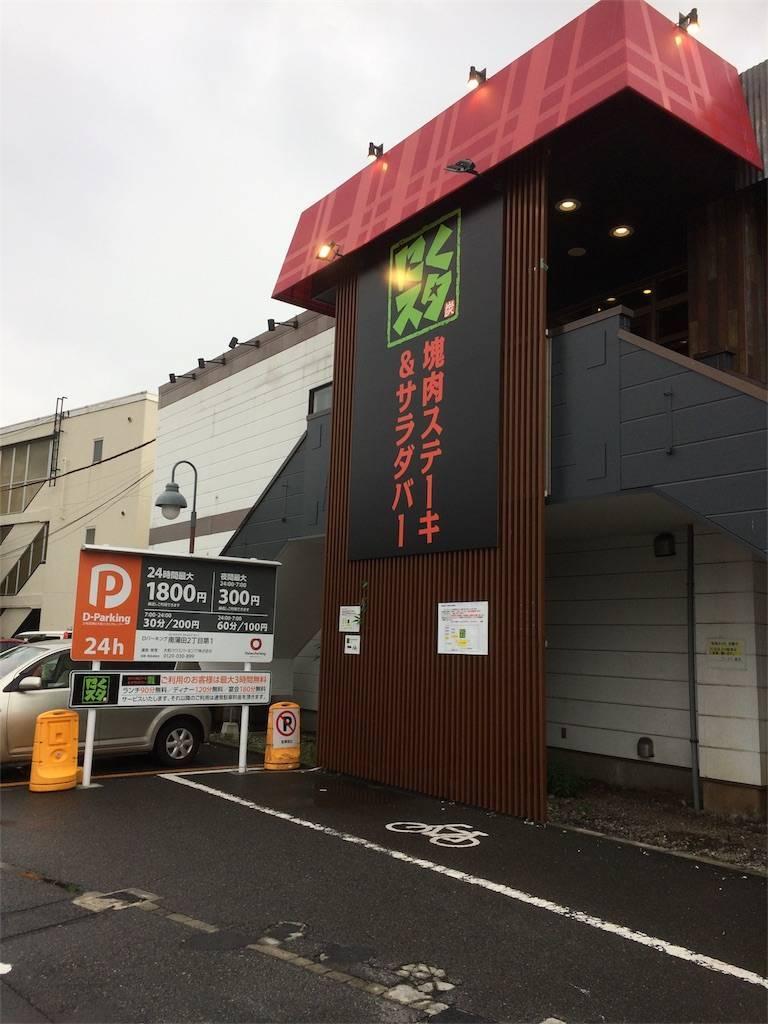 株主優待 ワタミ にくスタ 駐車場
