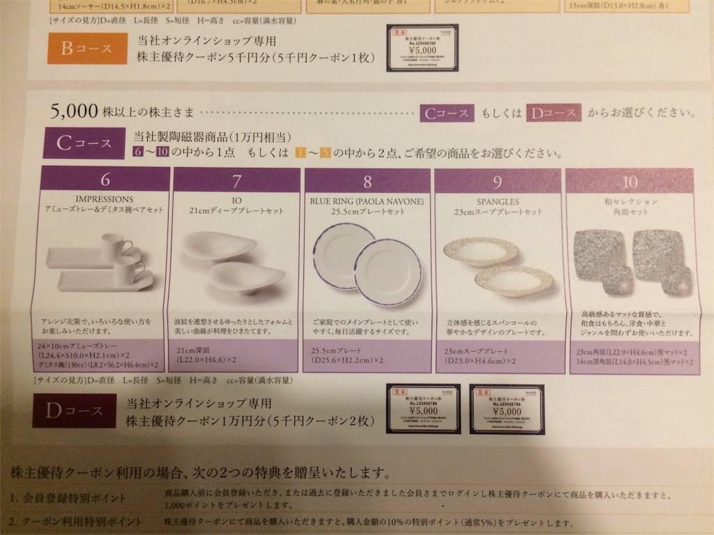 株主優待 ニッコー 10,000円カタログ