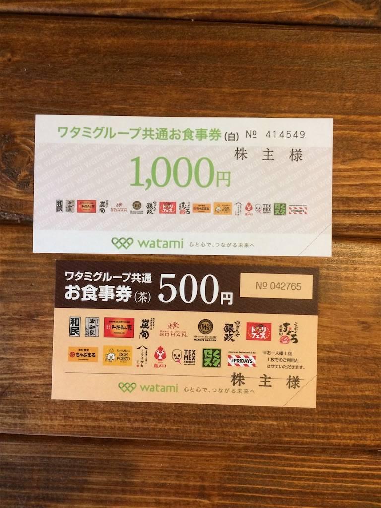 株主優待 ワタミ 株主総会