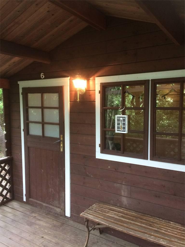 夏キャンプ フォンテーヌの森 キャビン 設備