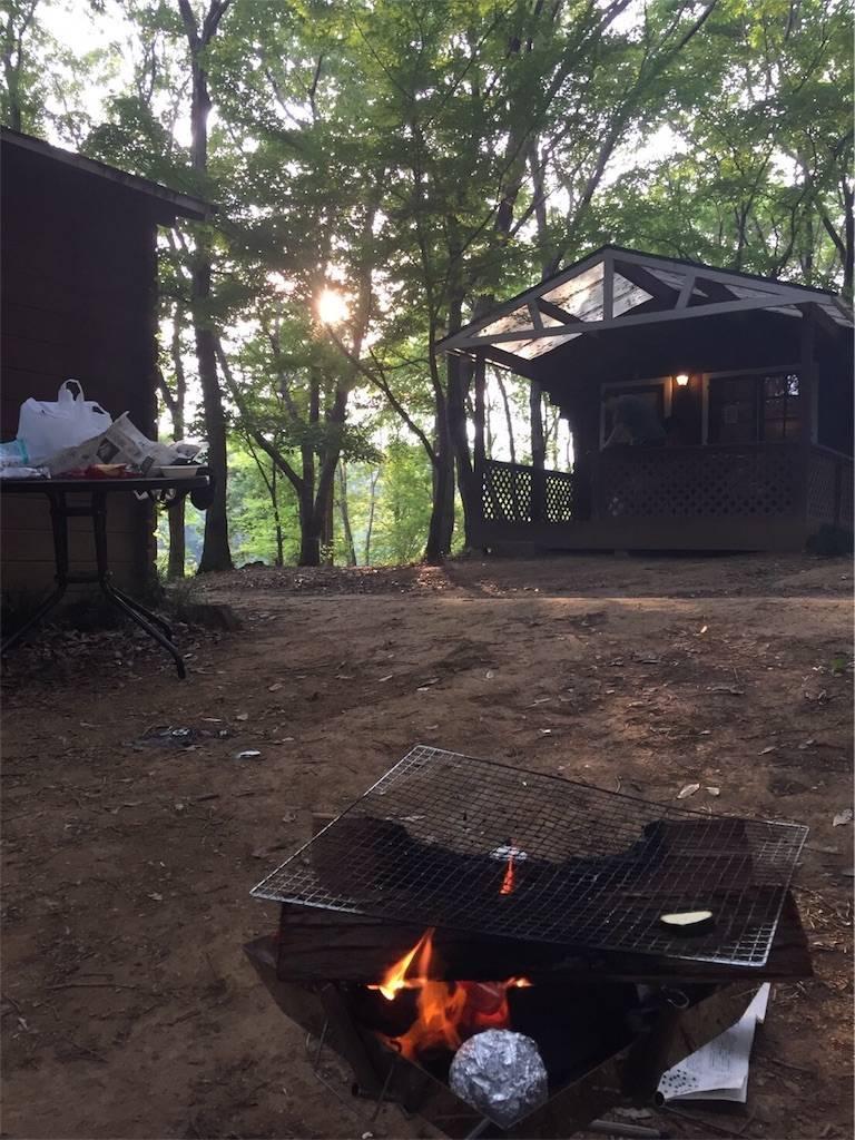 フォンテーヌの森 キャンプ BBQ