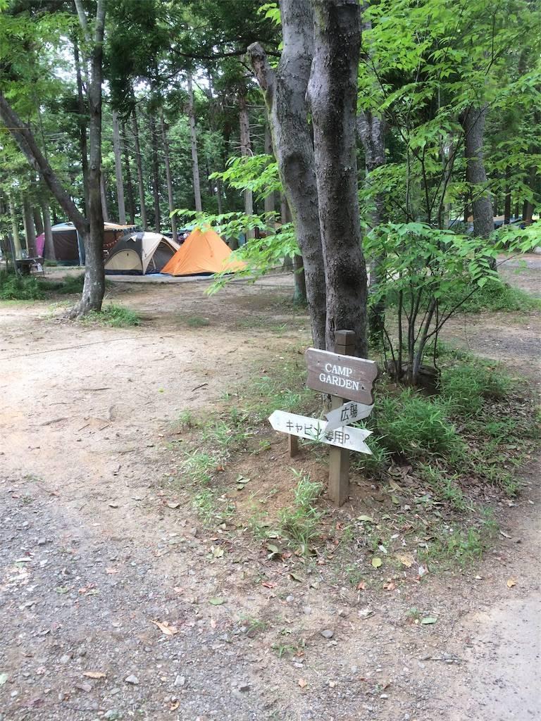 フォンテーヌの森 キャンプ テントサイト