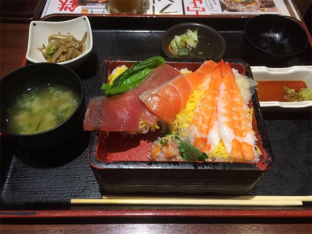 株主優待 にじゅうまる 海鮮丼