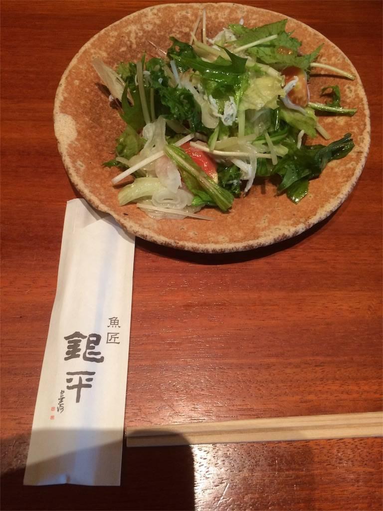 KITTE 丸の内 銀平 サラダ