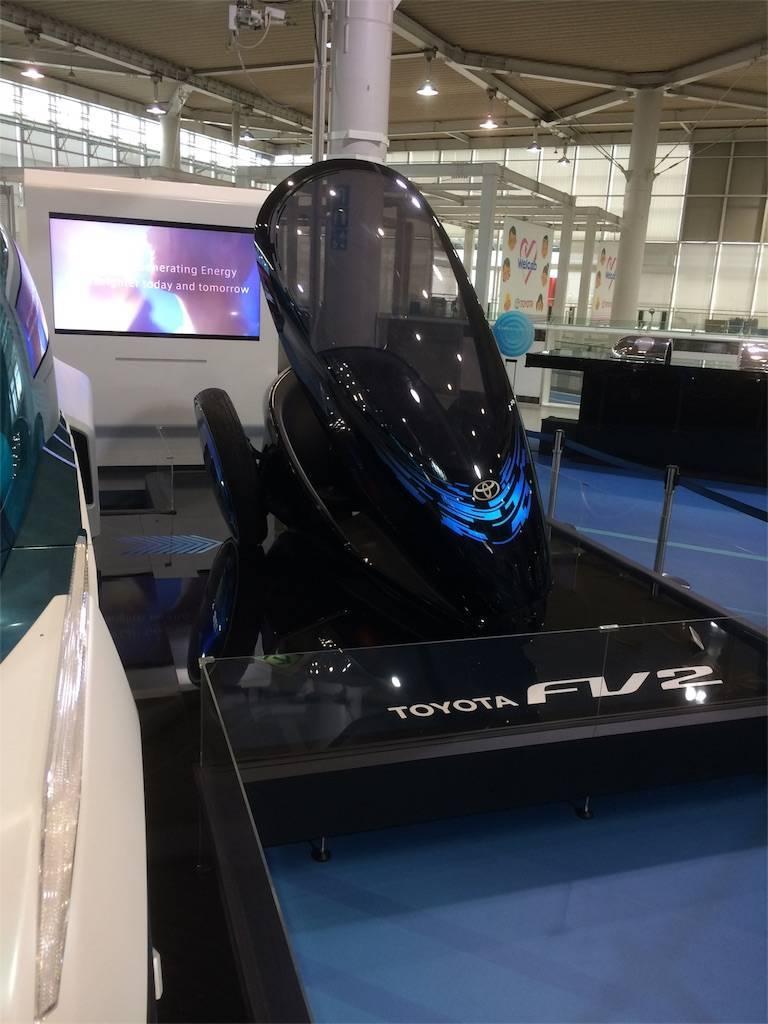 お台場 トヨタ MEGA WEB 未来の自動車