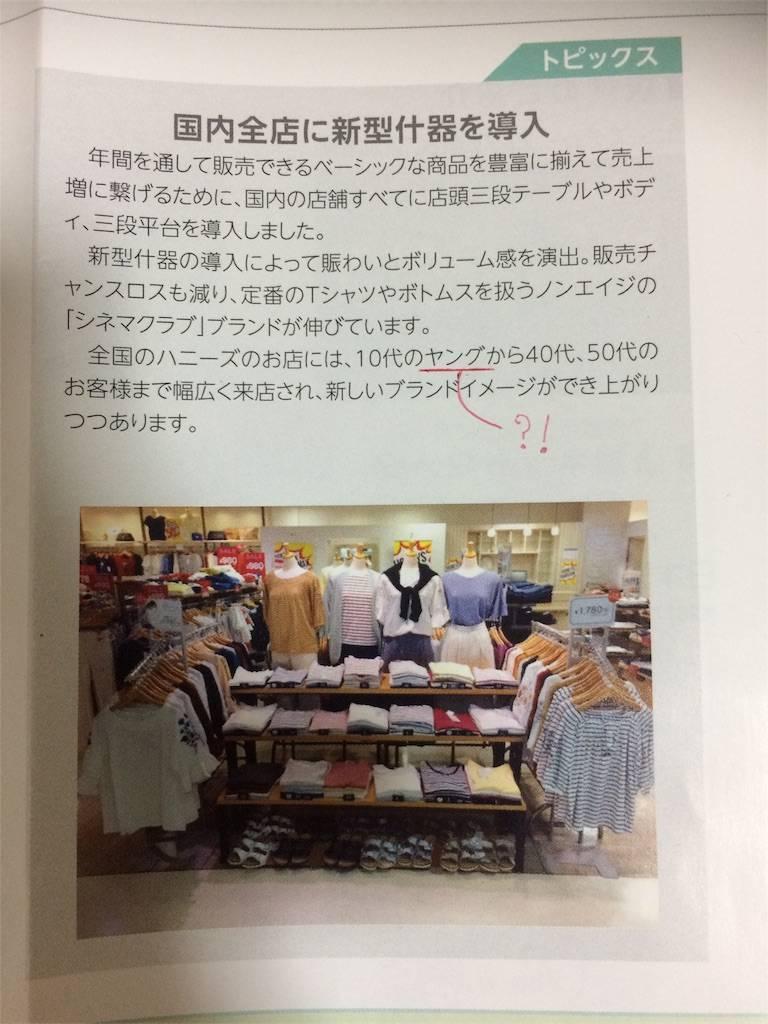 株主優待 ハニーズ 10代のヤング