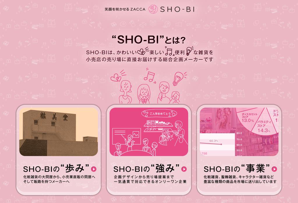 SHO-BI どんな会社?