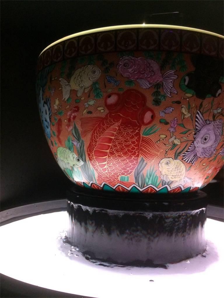 アートアクアリウム 日本橋 金魚の器