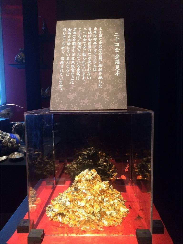 アートアクアリウム 日本橋 金粉