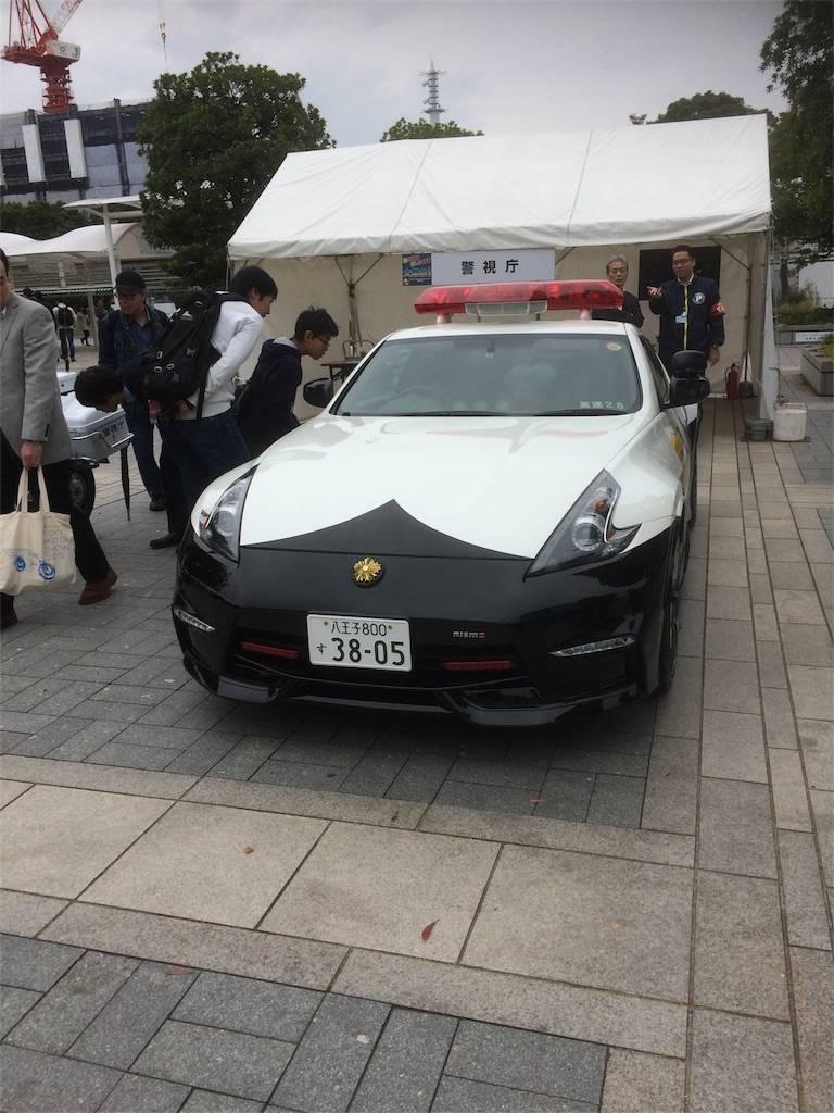東京モーターショー2017 パトカー