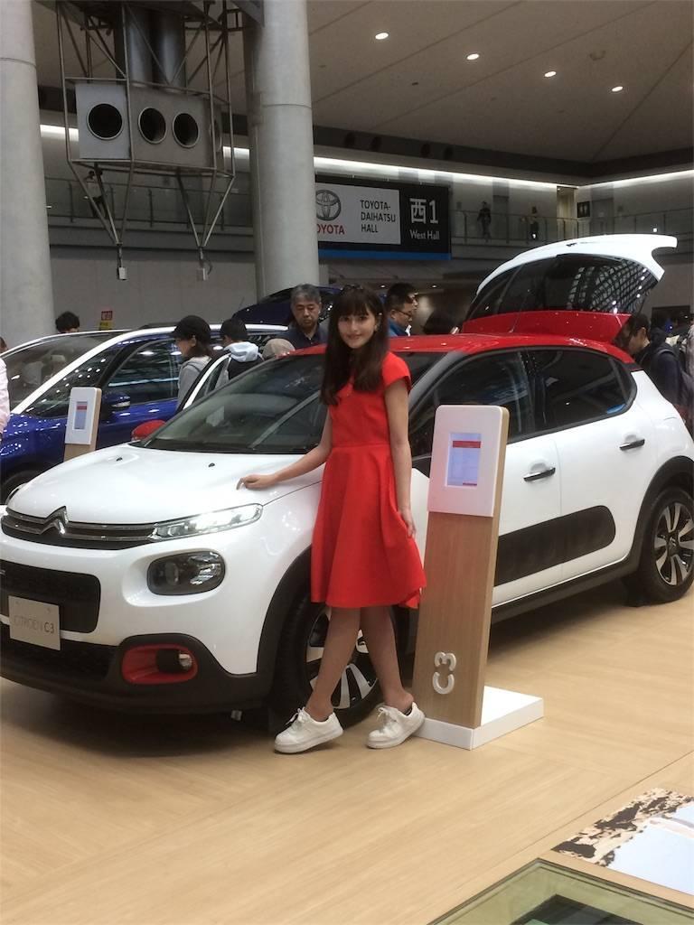 東京モーターショー2017 西ブース コンパニオン
