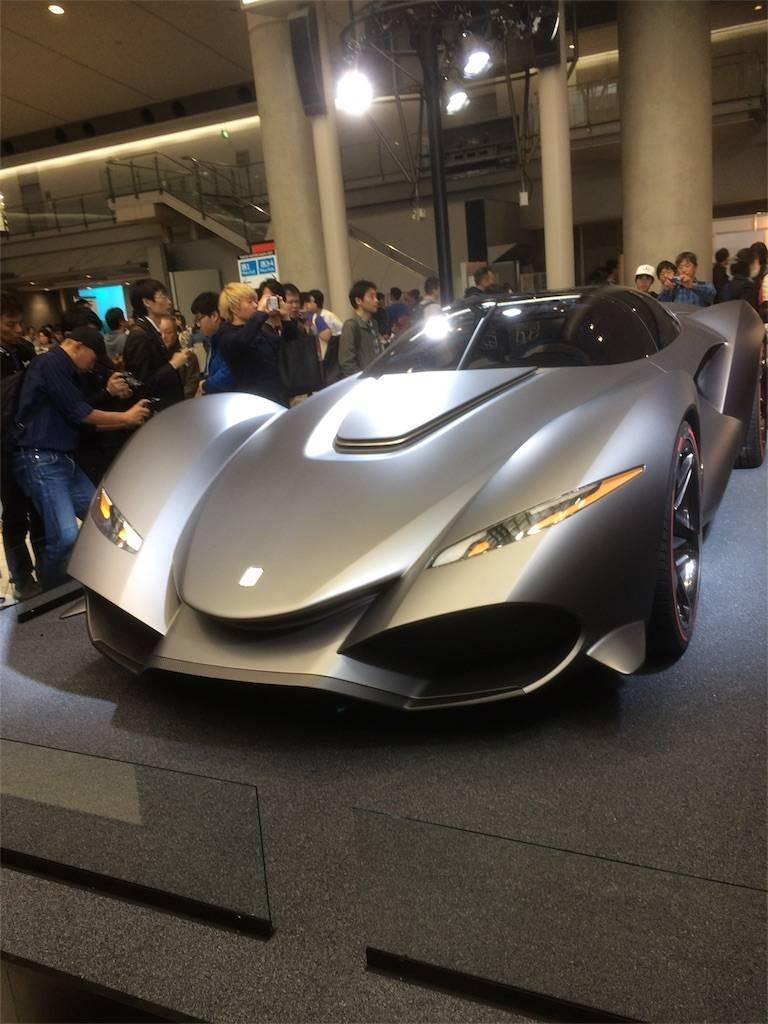 東京モーターショー2017 最先端自動車