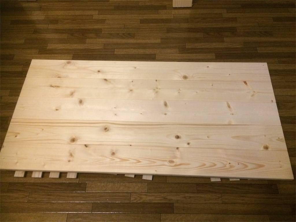 DIY ウォールダイニングテーブル 天板作り