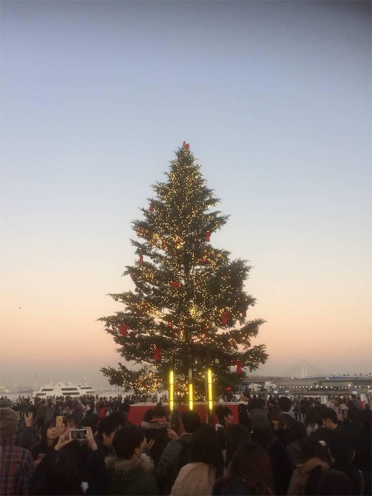 横浜 みなとみらい 赤レンガ クリスマスツリー