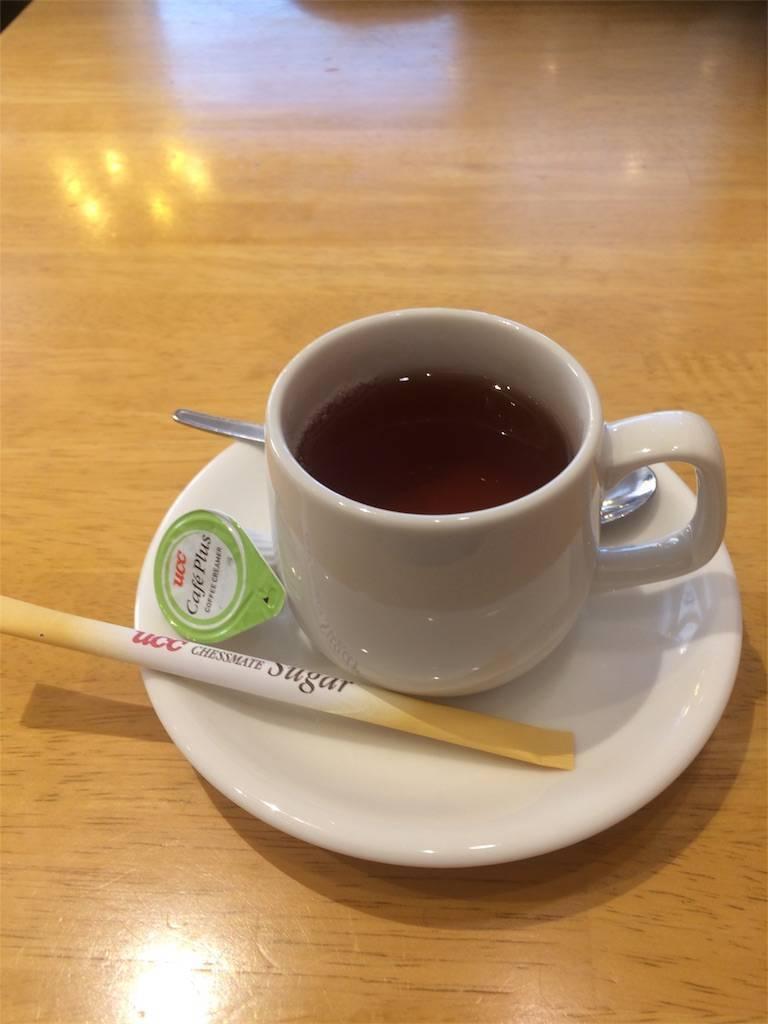 株主優待で福袋 カプリチョーザ 食後の紅茶